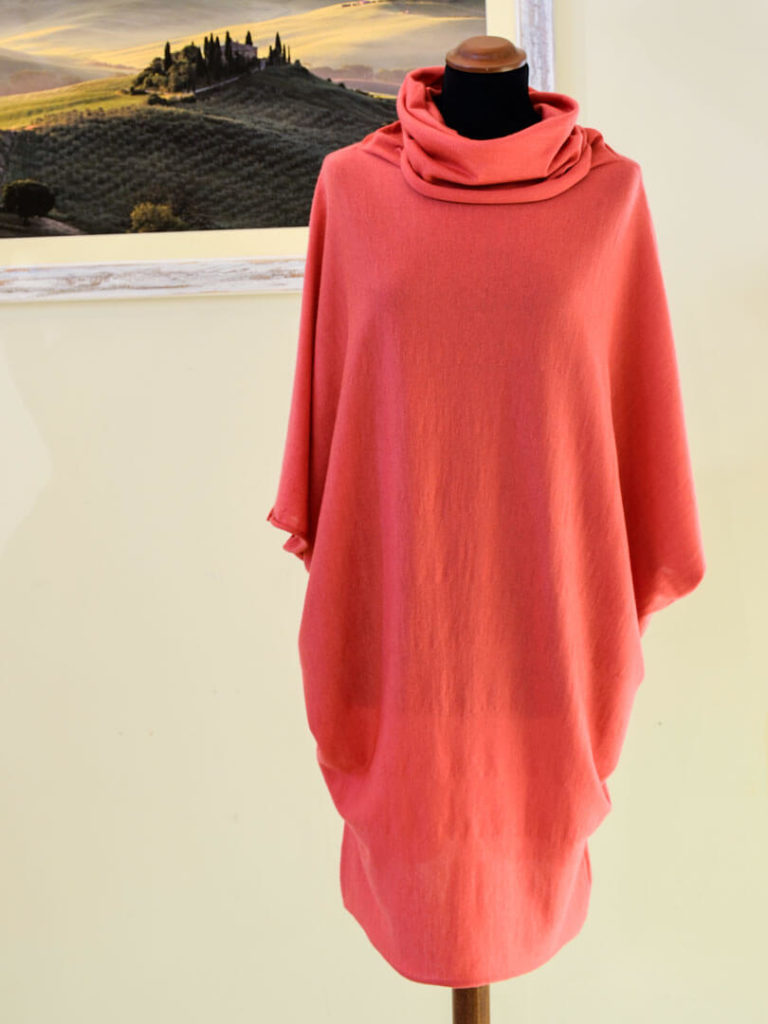 Pipistrello Cashmere Dress