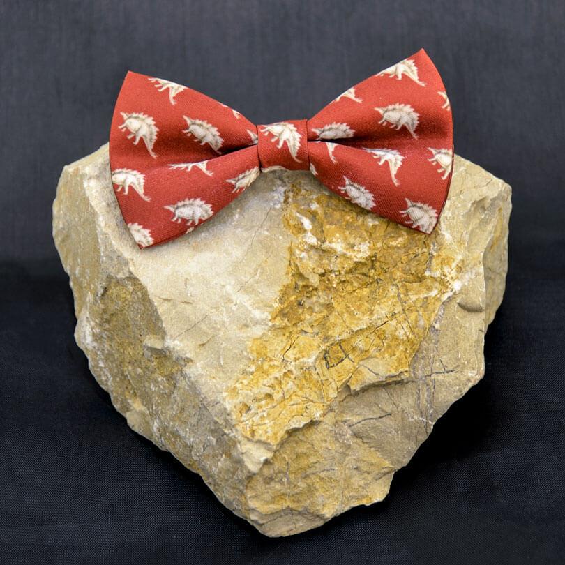 Stegosaurus Bow Tie
