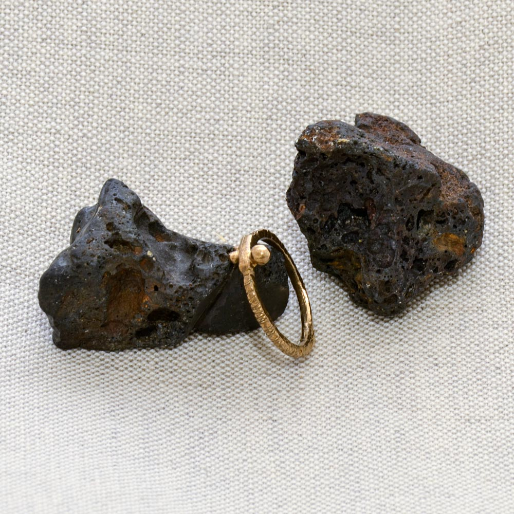 Three Dots Bronze Ring